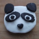 Panda Head Cookie Cutter