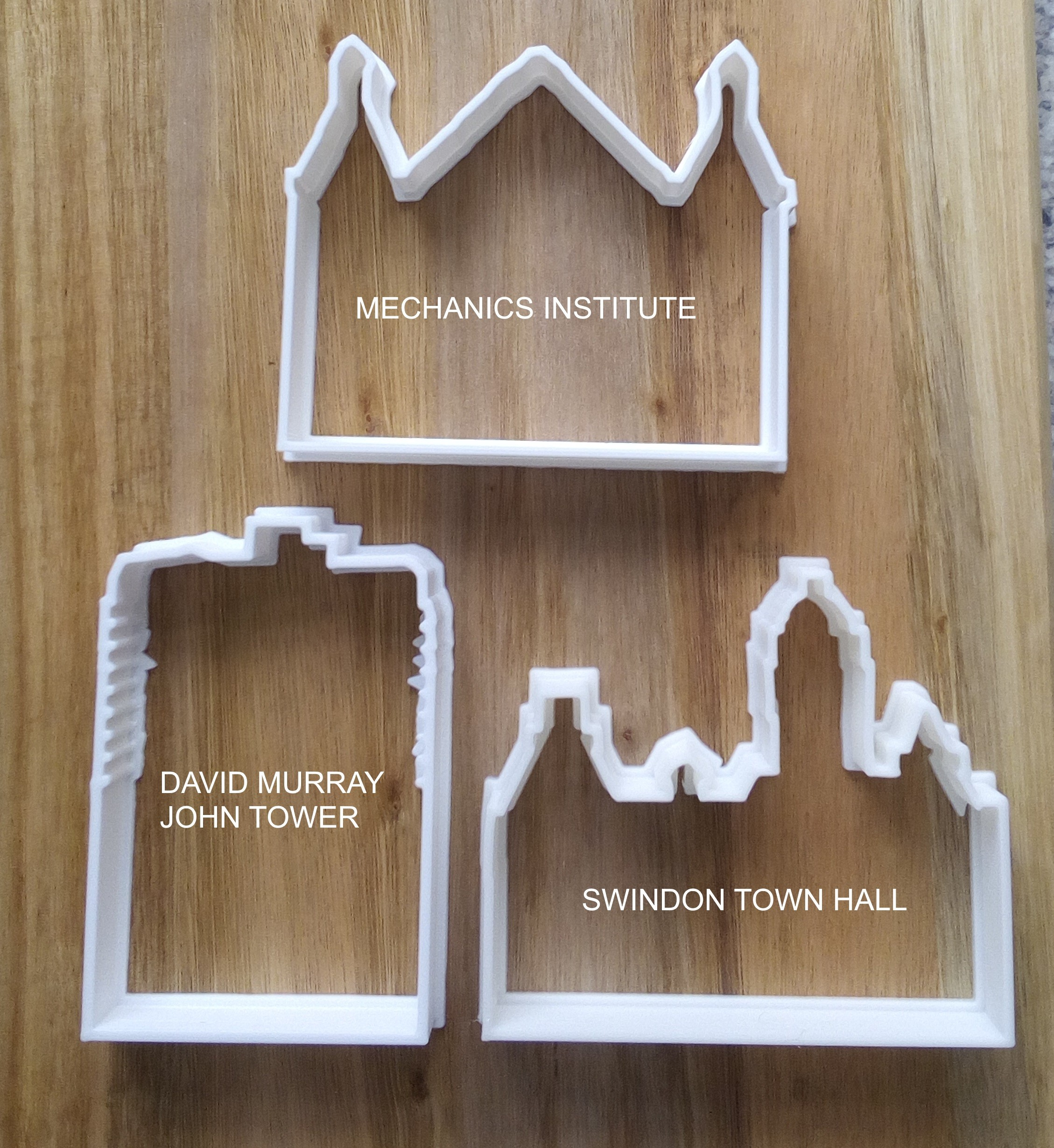 Swindon Town Cookie Cutters