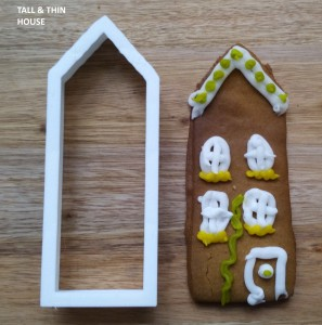 Tall & Thin Scandi House Cookie Cutter