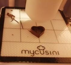 Chocolate Heart From MyCuisini