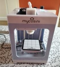 Our MyCusini 3D Chocolate Printer