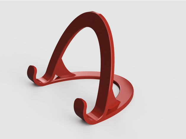 I Phone X Stand 3D Printed