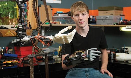 Easton Chappelle and his 3d Printed arm