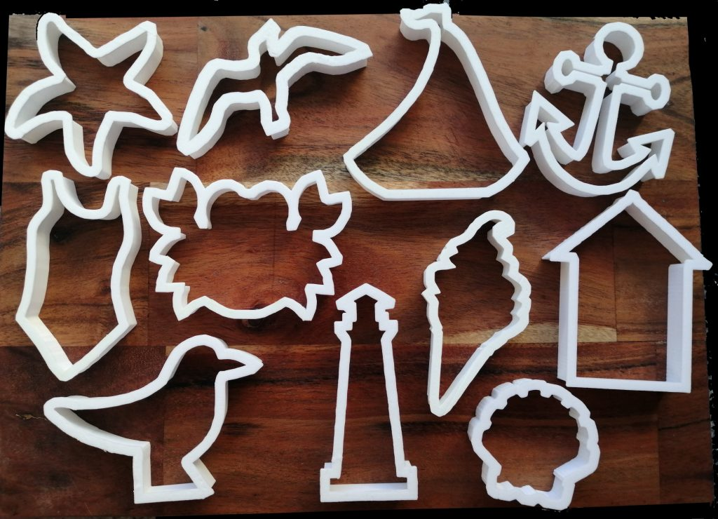 Cookie Cutters for Summer