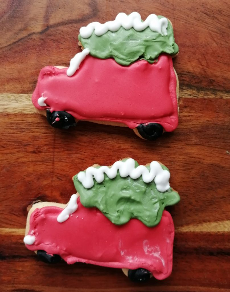 Christmas Car Cookie