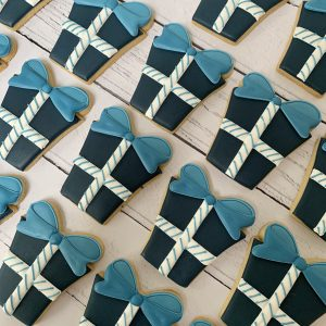 Present Cookies from @littlebiscuitbox