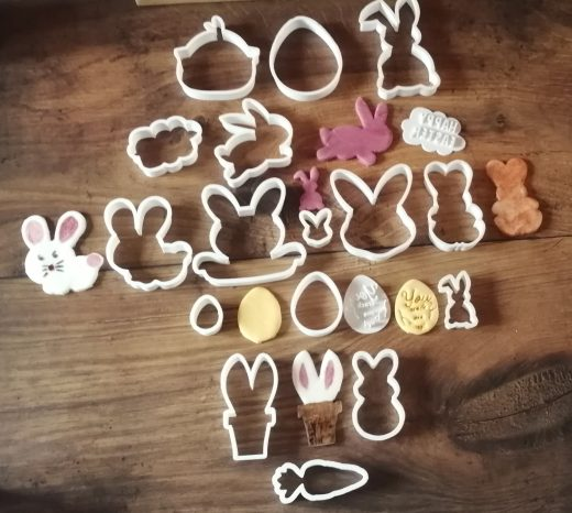 Eggciting Easter Cookie Cutters from SED HQ - the SED easter cookie cutter range