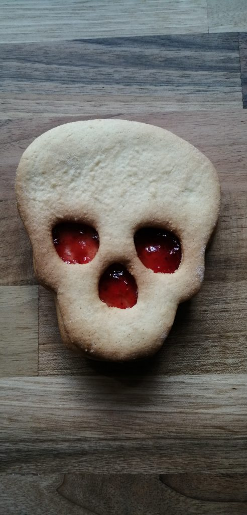 Skull Cut Out Cookie Cutter
